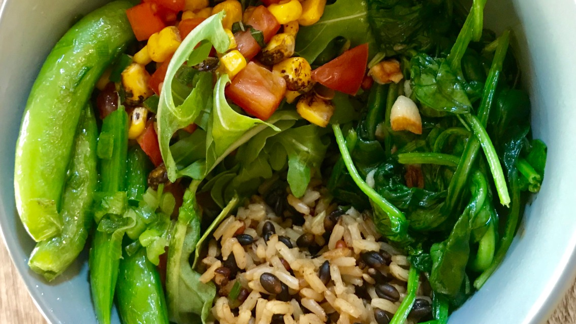 Vegan Antioxidant Grain Bowl Recipe