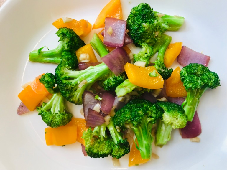 broccoli pepper stir fry