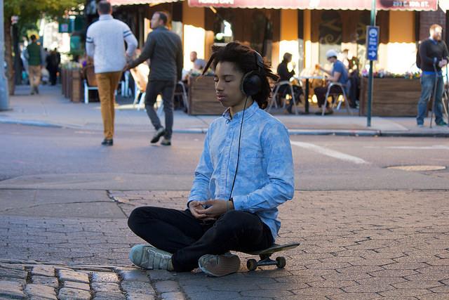 Meditation by Tina Leggio