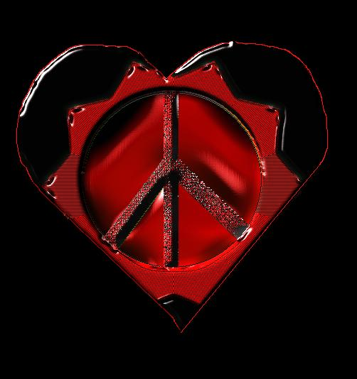 Spread The Love And Peace by karen H. nickname.{pooh}.jpg