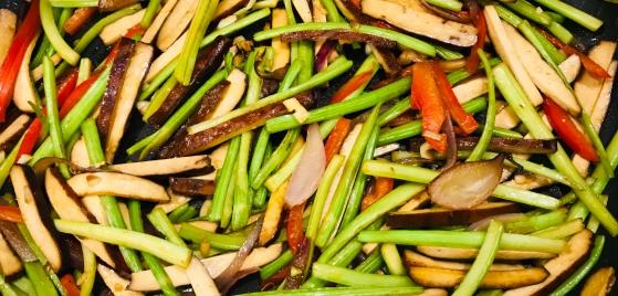 beancurd celery stir fry cooking