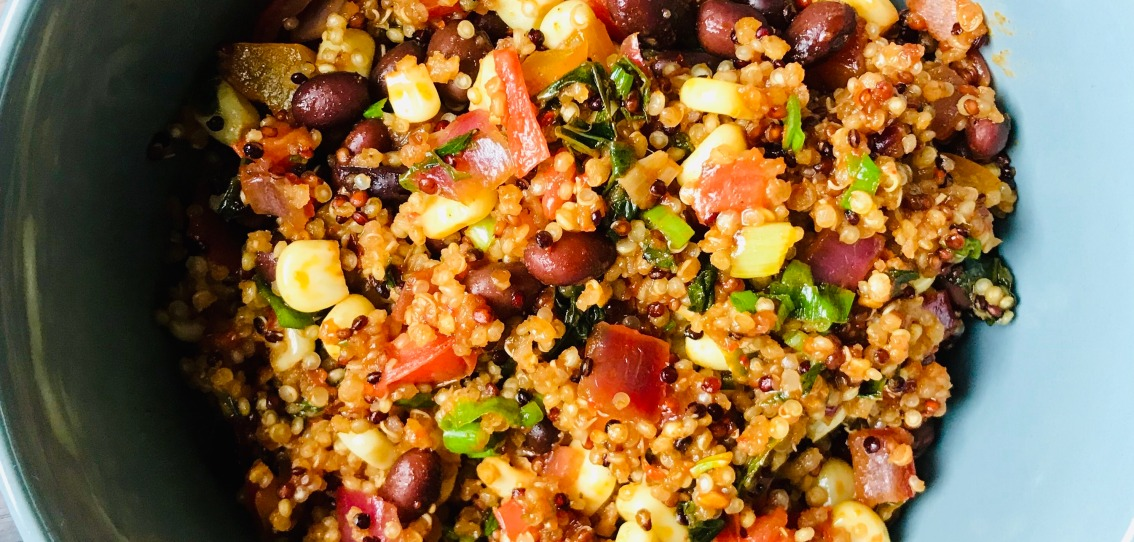 Fiesta Quinoa Bowl Recipe