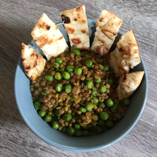 lentil and peas curry
