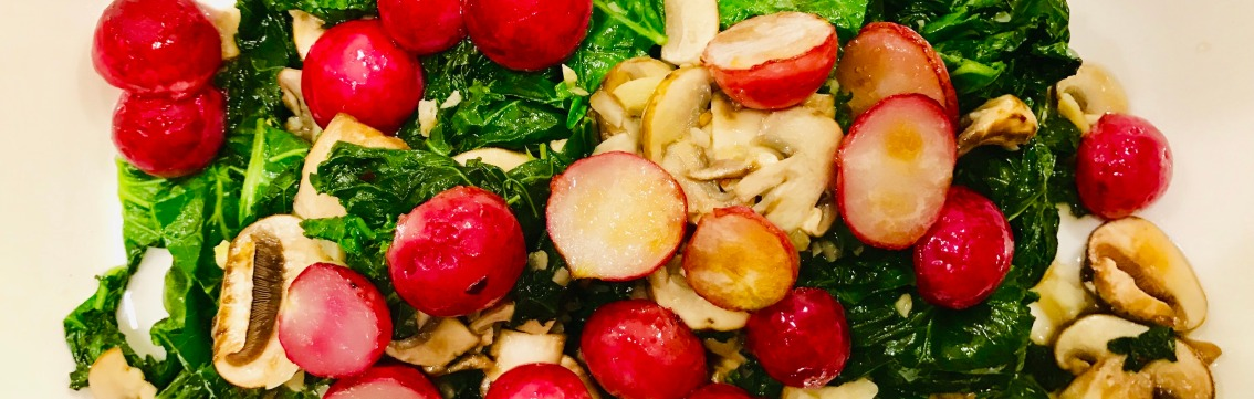 Sautéed Kale Salad MedleyRecipe