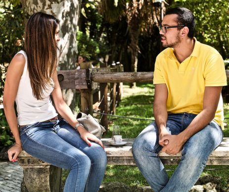 Talking by Pedro Ribeiro Simoes