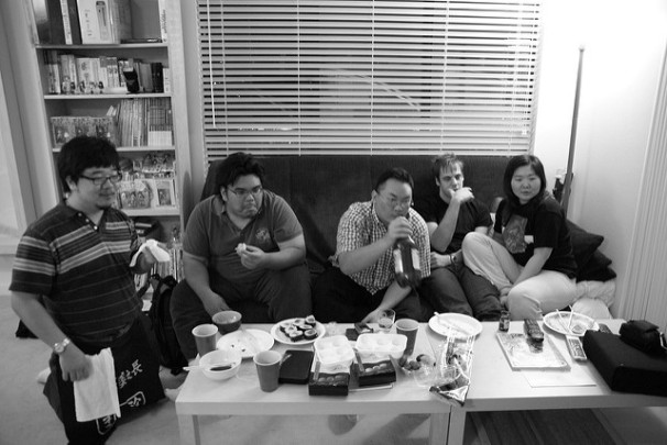 Watching Zoolander by Vincent Diamante.jpg