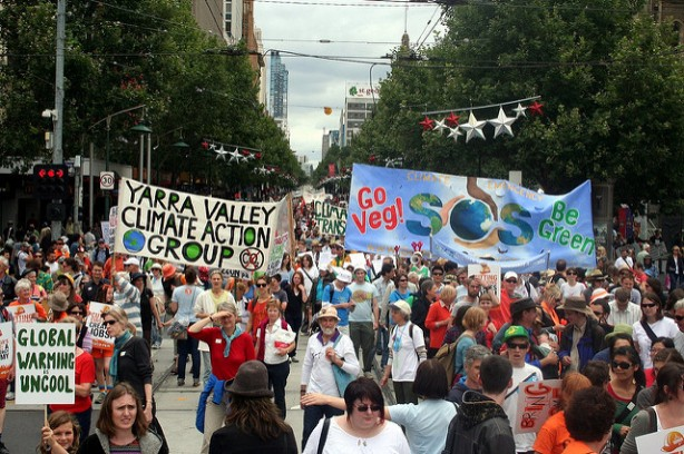 Climate Rally by Takver.jpg