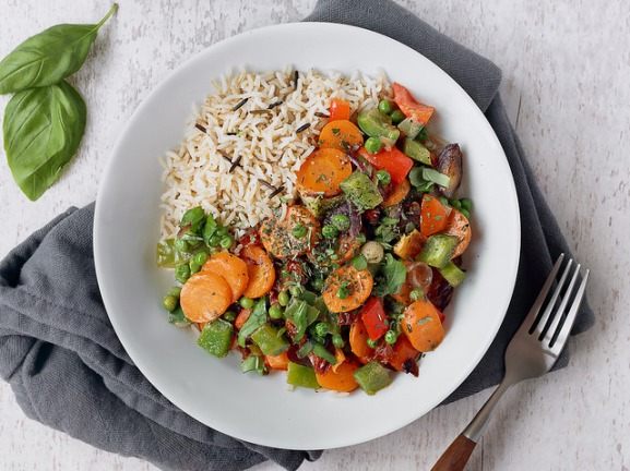 Greek Basil Wild Rice Dish by Ella Olsson.jpg