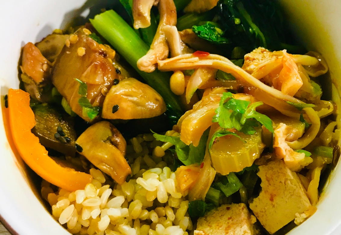 Shanghai Fusion Rice Bowl Recipe